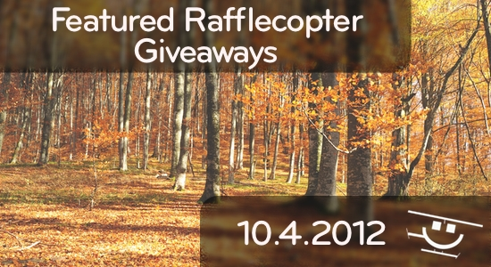 Featured Rafflecopter Giveaways - 10/4