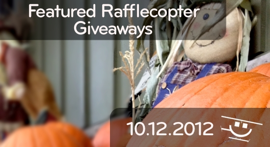 Featured Giveaways - 10.12.2012