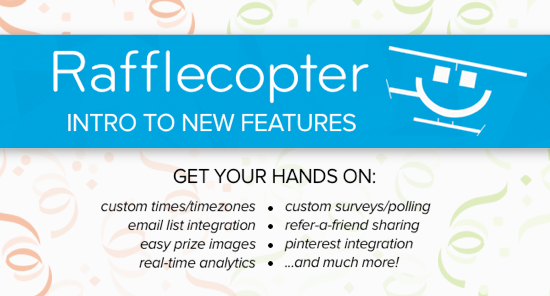 Get Introduced to new Rafflecopter Features