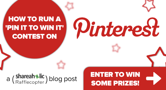 How To Run A Pin It To Win It Contest