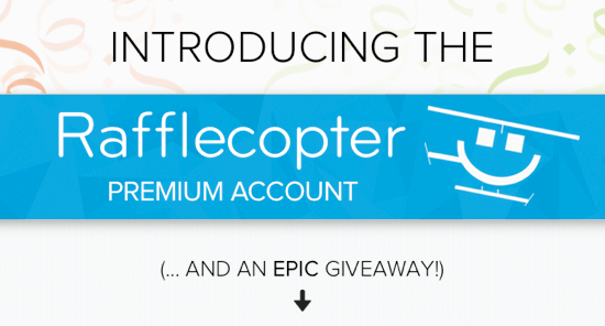 Introducing the Rafflecopter Premium Account