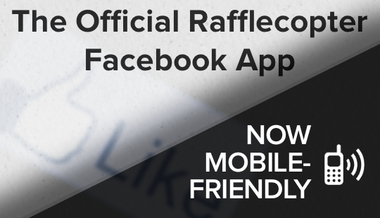Mobile-Friendly Rafflecopter App