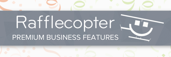 Rafflecopter Premium Business Features