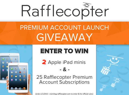 Rafflecopter Premium Launch Giveaway