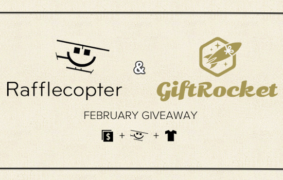 GiftRocket Rafflecopter Giveaway