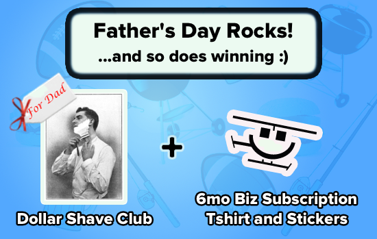 Enter the Father's Day Rocks! Giveaway