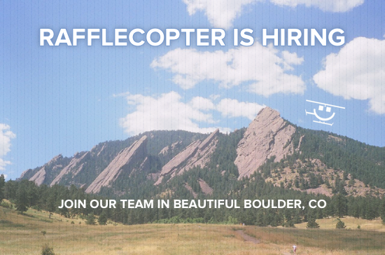 Rafflecopter Is Hiring