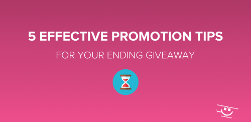 Giveaway Promotion Tips & Tricks