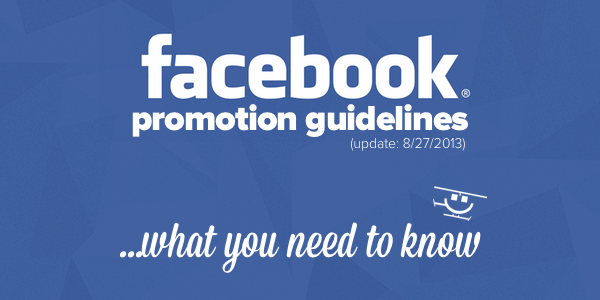Facebook Promotion Guidelines Updated