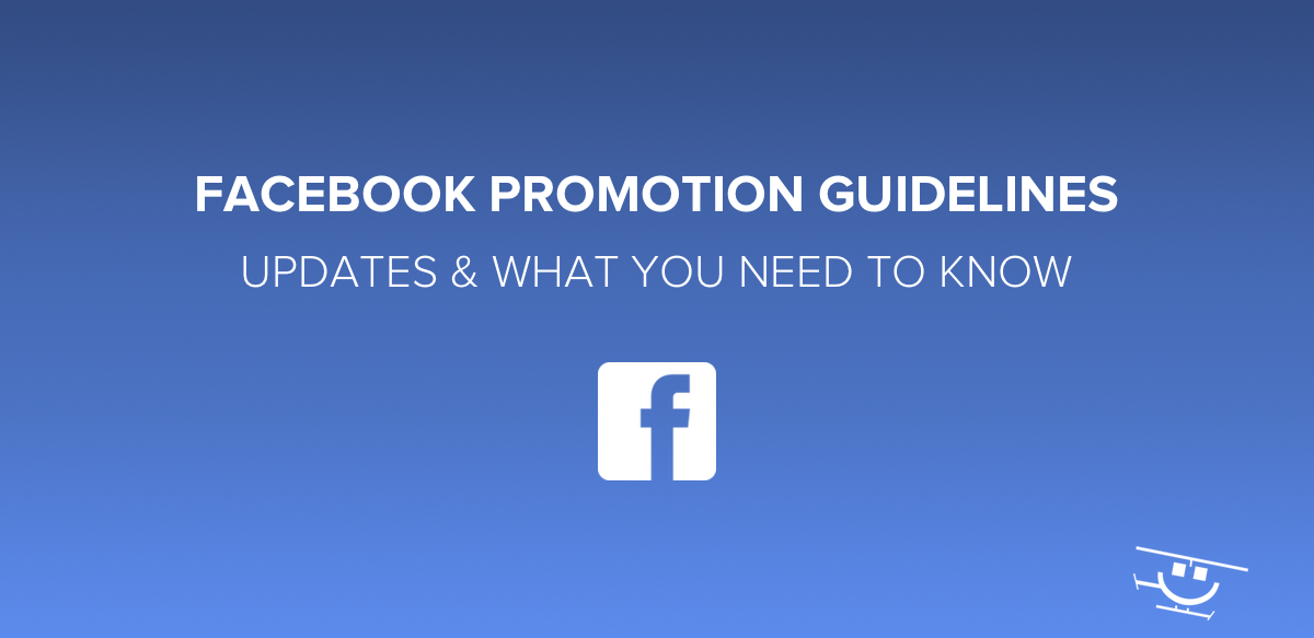 Facebook Promotion Guidelines Update