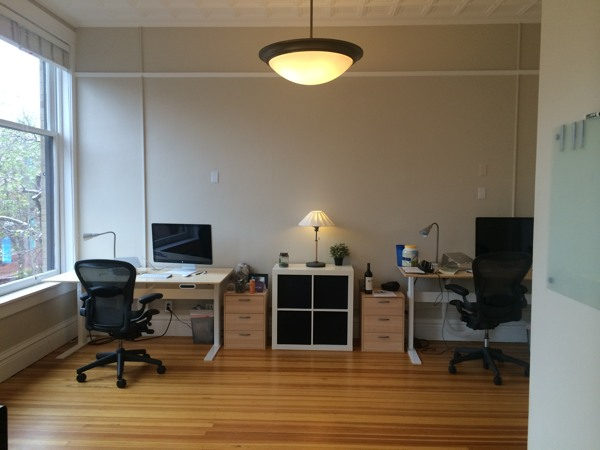 The 'biz room'
