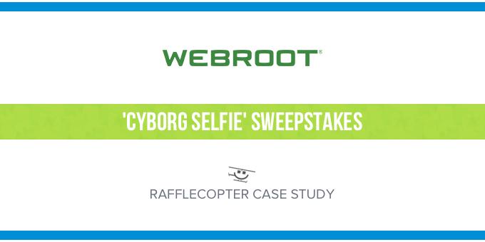 Webroot - Rafflecopter Case Study