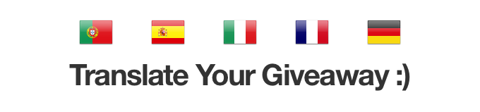 Translate Your Giveaway