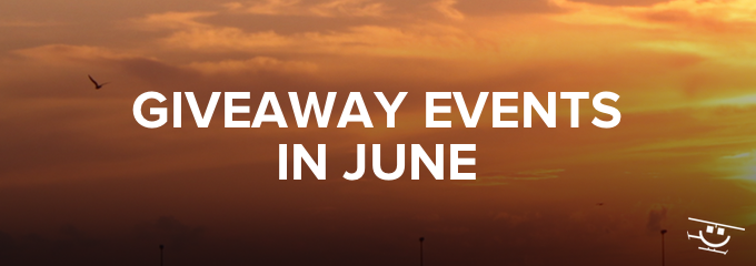 Giveaway Events in June