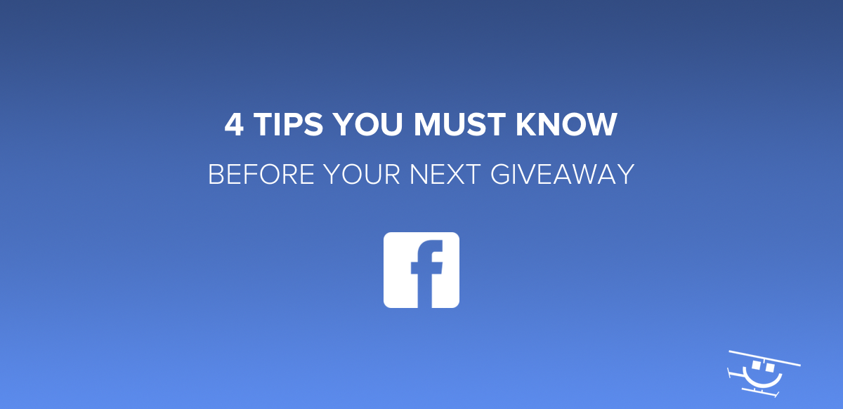 Facebook Giveaway Tips