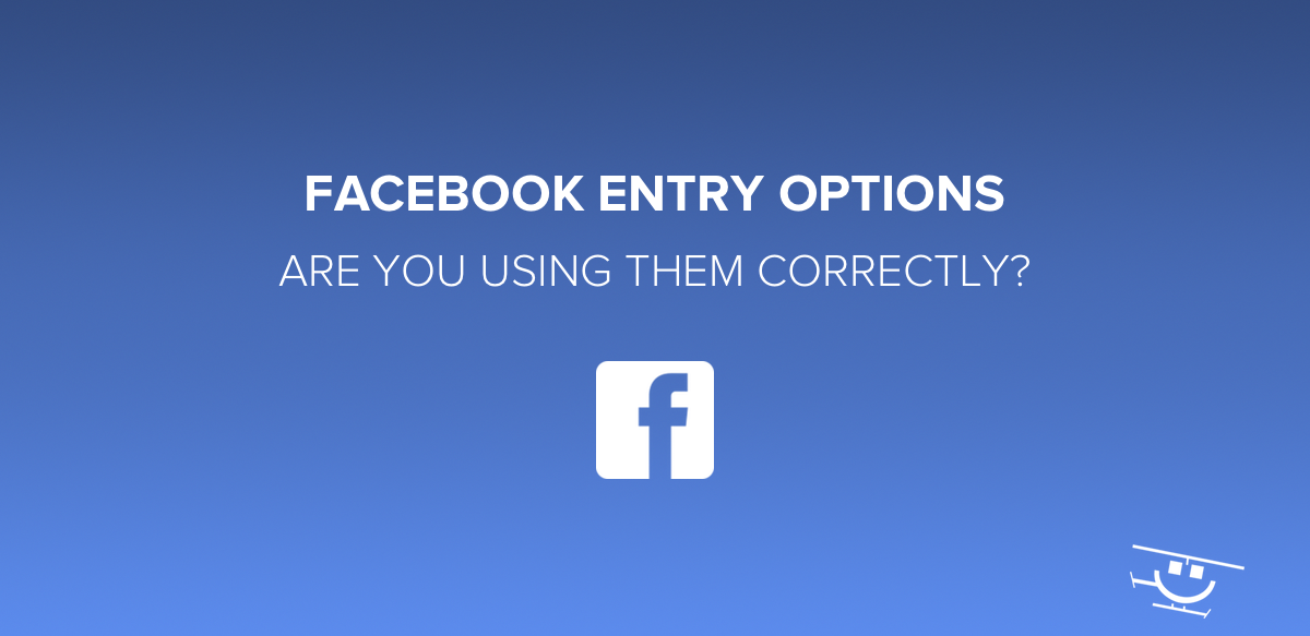 Entry Options for Facebook Giveaways