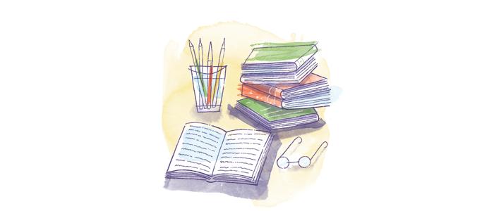books-illustration