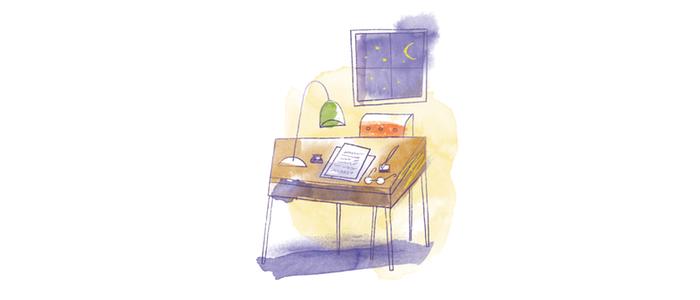 writing-desk-illustration
