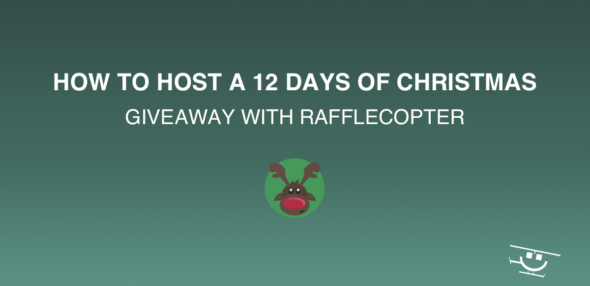 Host a 12 Days of Christmas Giveaway