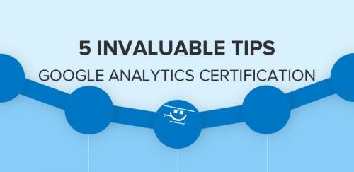Google Analytics Certification Tips